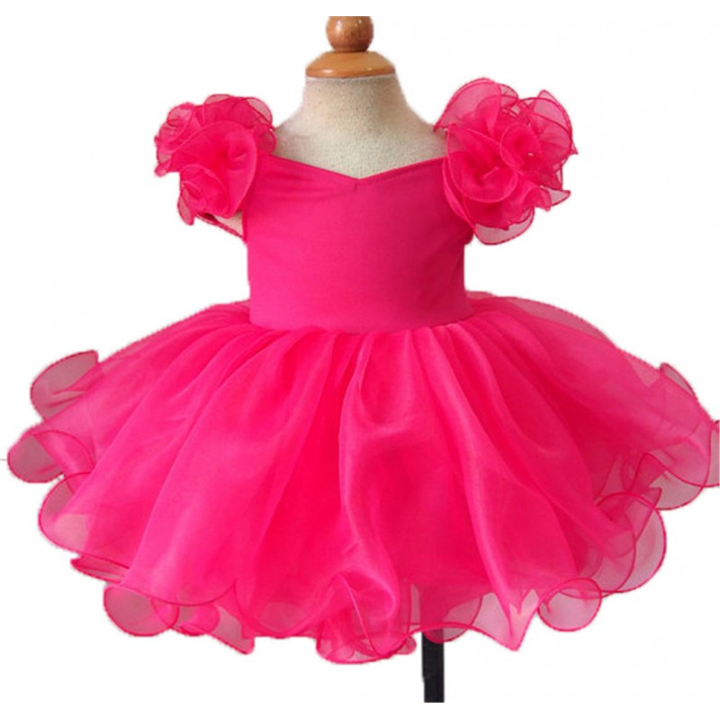 Infant//toddler//kids//baby//Girl/'s  Pageant//prom//formal Dress EB053C